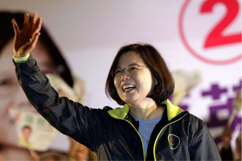 Tsai Ing-wen is elected Taiwan's first female President