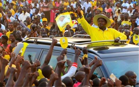 Museveni wins fifth term elections amidst controversy
